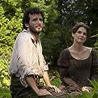 Keri Russell and Bret McKenzie in Austenland (2013)