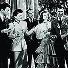 Cary Grant, Katharine Hepburn, James Stewart, John Howard, and Ruth Hussey in The Philadelphia Story (1940)