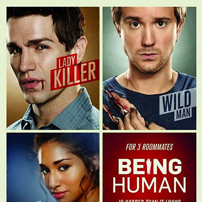 Sam Huntington, Kyle Schmid, Meaghan Rath, Sam Witwer, and Kristen Hager in Being Human (2011)
