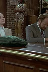 Kelsey Grammer and Bebe Neuwirth in Cheers (1982)