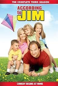 Jim Belushi, Courtney Thorne-Smith, Taylor Atelian, and Billi Bruno in According to Jim (2001)