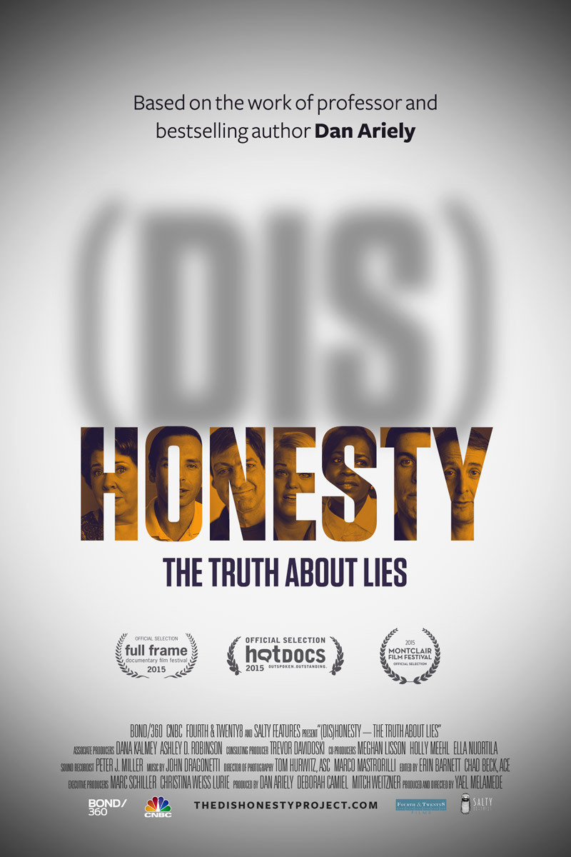 Dishonesty The Truth About Lies 2015 Imdb