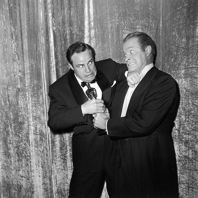 Marlon Brando and Bob Hope