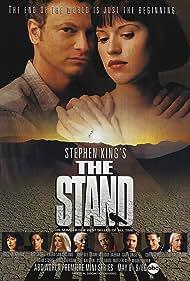 Molly Ringwald, Rob Lowe, Laura San Giacomo, Gary Sinise, Kareem Abdul-Jabbar, Ruby Dee, Corin Nemec, and Bill Fagerbakke in The Stand (1994)
