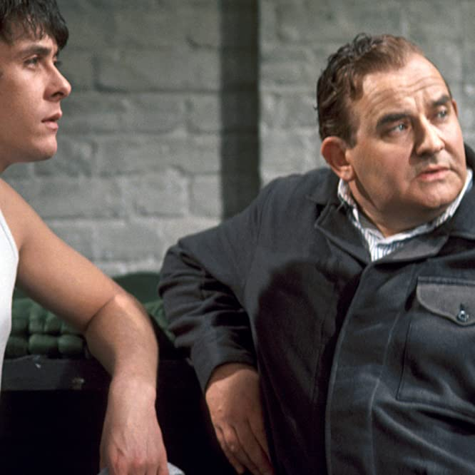 Ronnie Barker and Richard Beckinsale in Porridge (1973)