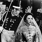 Peter Ustinov and Martine Carol in Lola Montès (1955)