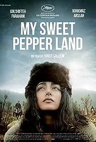 Golshifteh Farahani and Korkmaz Arslan in My Sweet Pepper Land (2013)