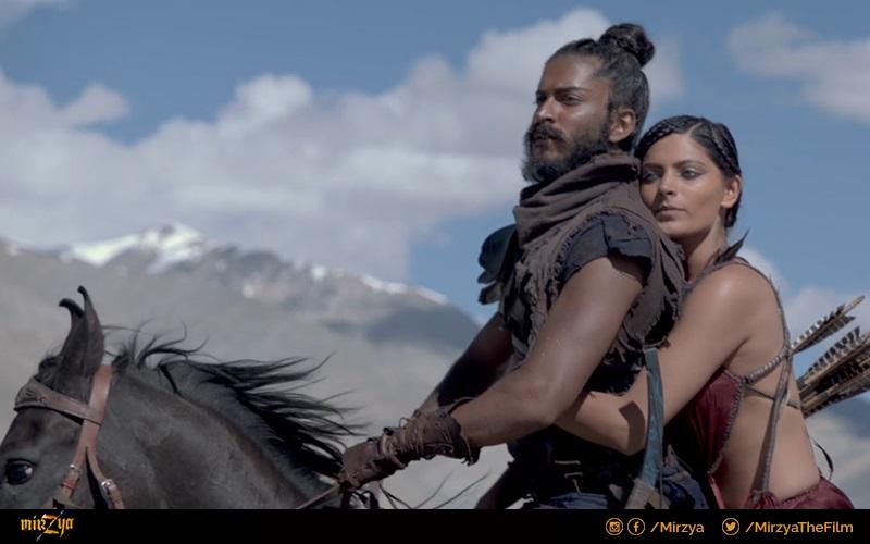 Saiyami Kher in Mirzya (2016)
