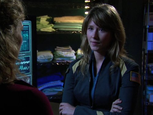 Jewel Staite in Stargate: Atlantis (2004)
