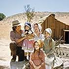 Melissa Sue Anderson, Melissa Gilbert, Michael Landon, Karen Grassle, Sidney Greenbush, Rachel Lindsay Greenbush, and Mary Ingalls in Little House on the Prairie (1974)