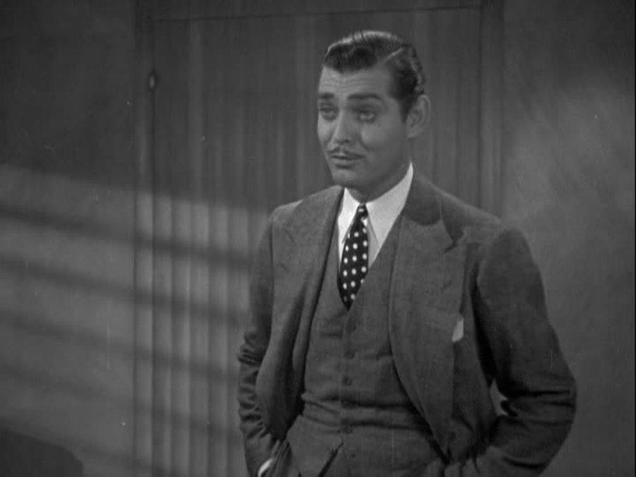 Clark Gable in Wife vs. Secretary (1936)