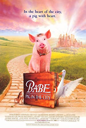 Babe: Pig in the City Poster Image