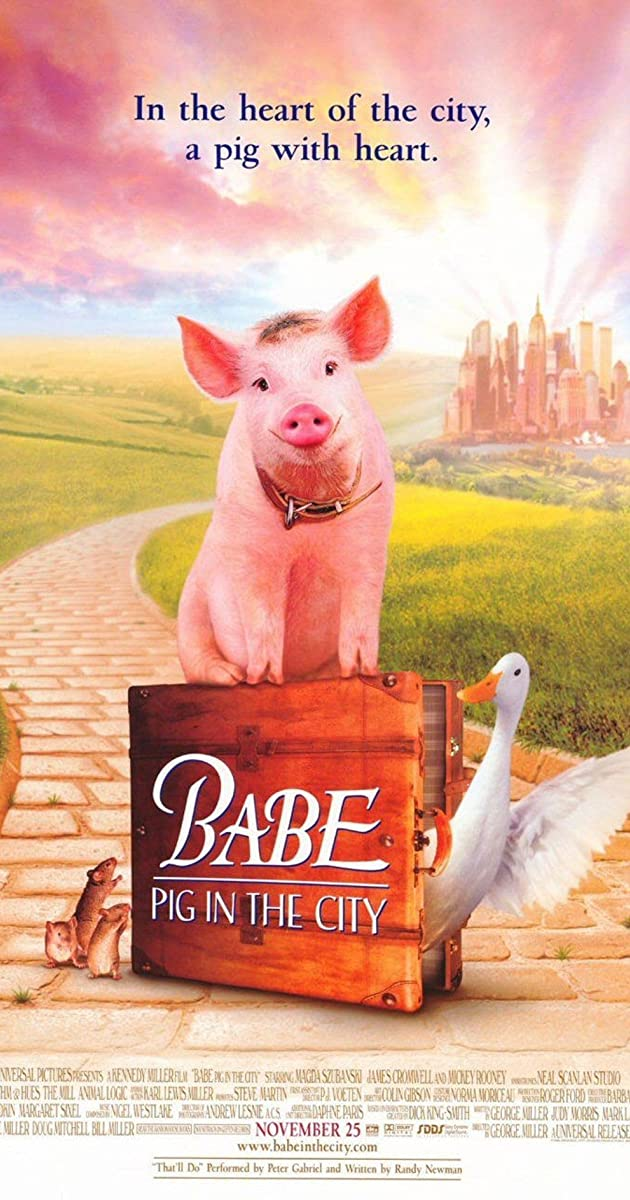 Babe: Pig in the City (1998) - IMDb