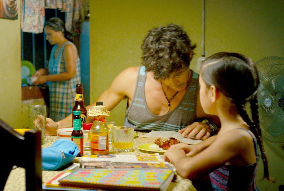 Óscar Jaenada and Jenna Ortega in After Words (2015)