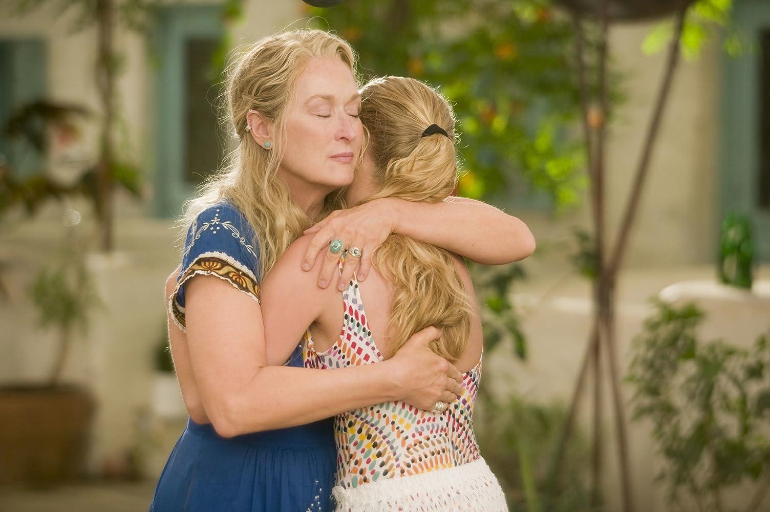 Meryl Streep and Amanda Seyfried in Mamma Mia! (2008)
