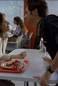 Elizabeth Bogush and Zach Braff in Scrubs (2001)