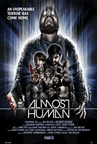 Graham Skipper, Susan T. Travers, Josh Ethier, and Vanessa Leigh in Almost Human (2013)