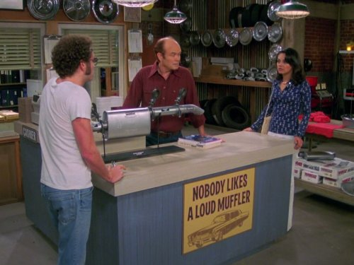 Kurtwood Smith, Mila Kunis, and Danny Masterson in That '70s Show (1998)