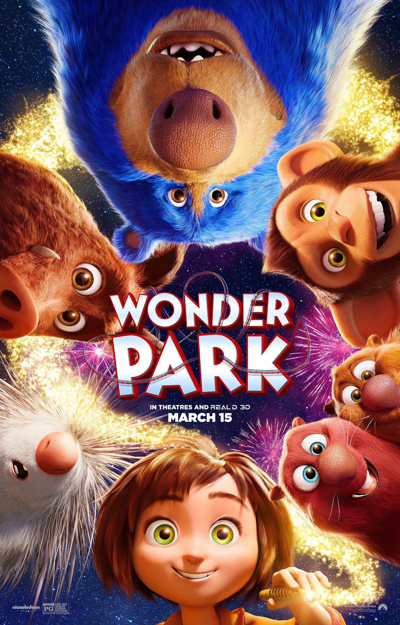 Image result for wonder park movie poster