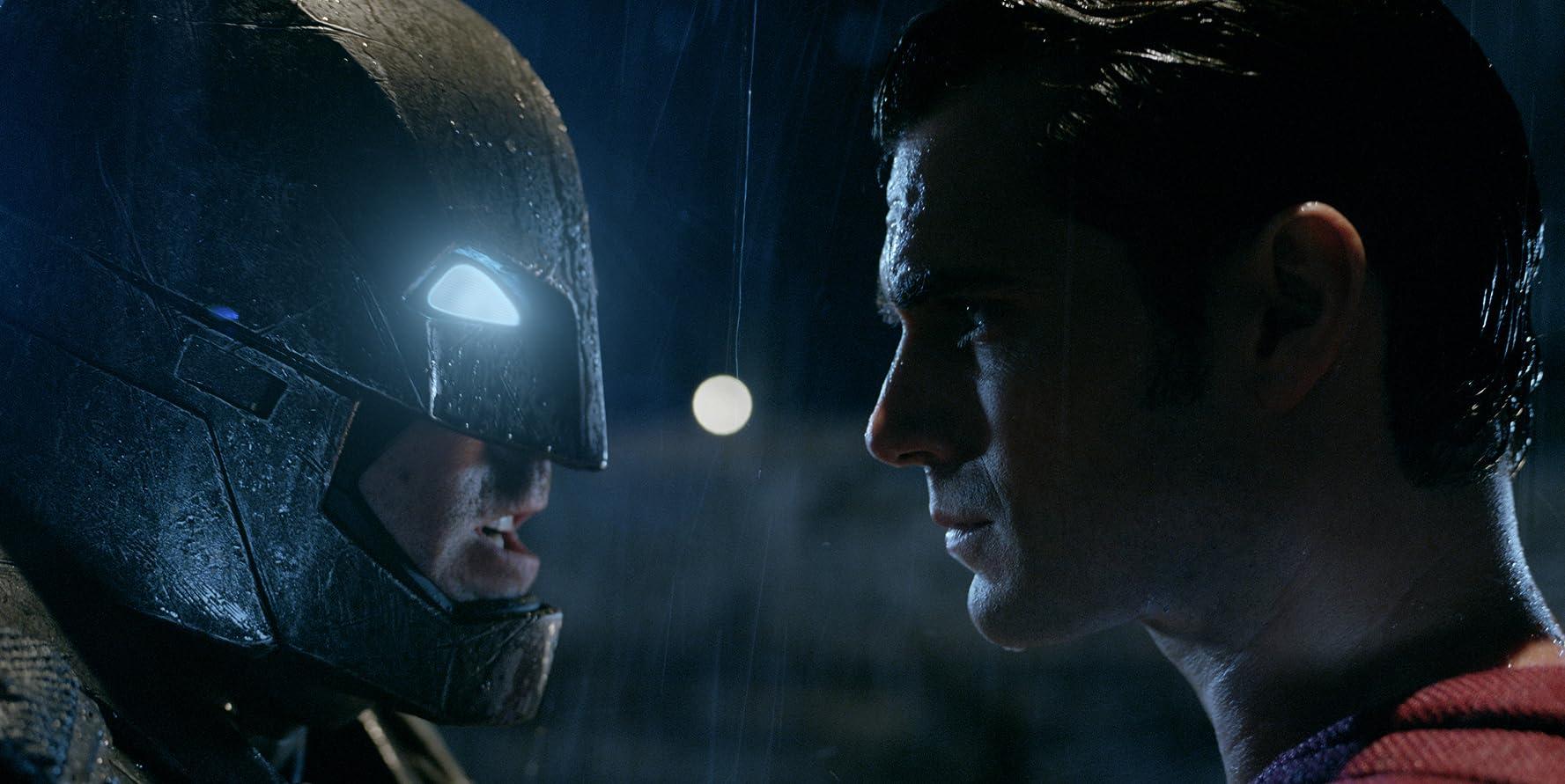 Ben Affleck and Henry Cavill in Batman v Superman: Dawn of Justice (2016)