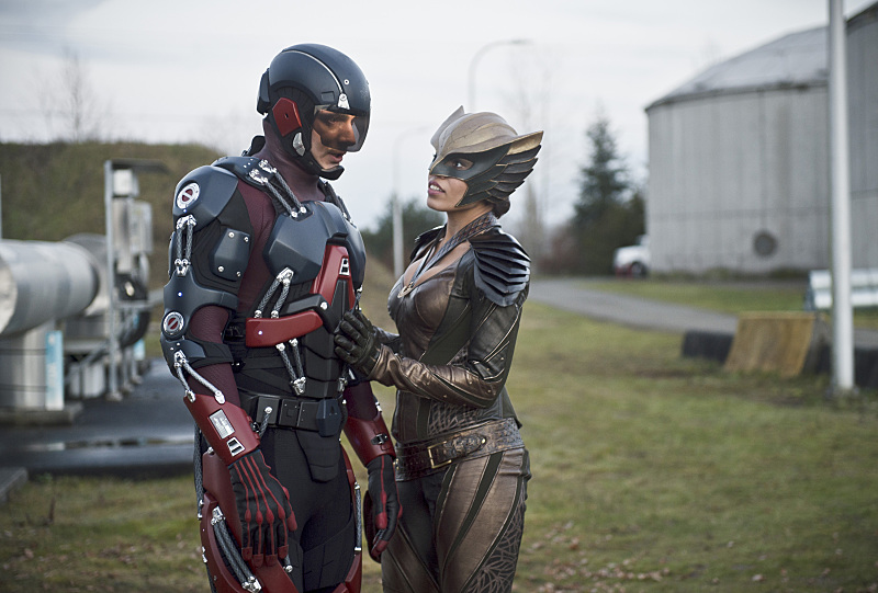 Brandon Routh and Ciara Renée in Legends of Tomorrow (2016)