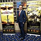Actor James Sibley, PC Greaves froom Curse of the Witching Tree keeping law and order at premiere
