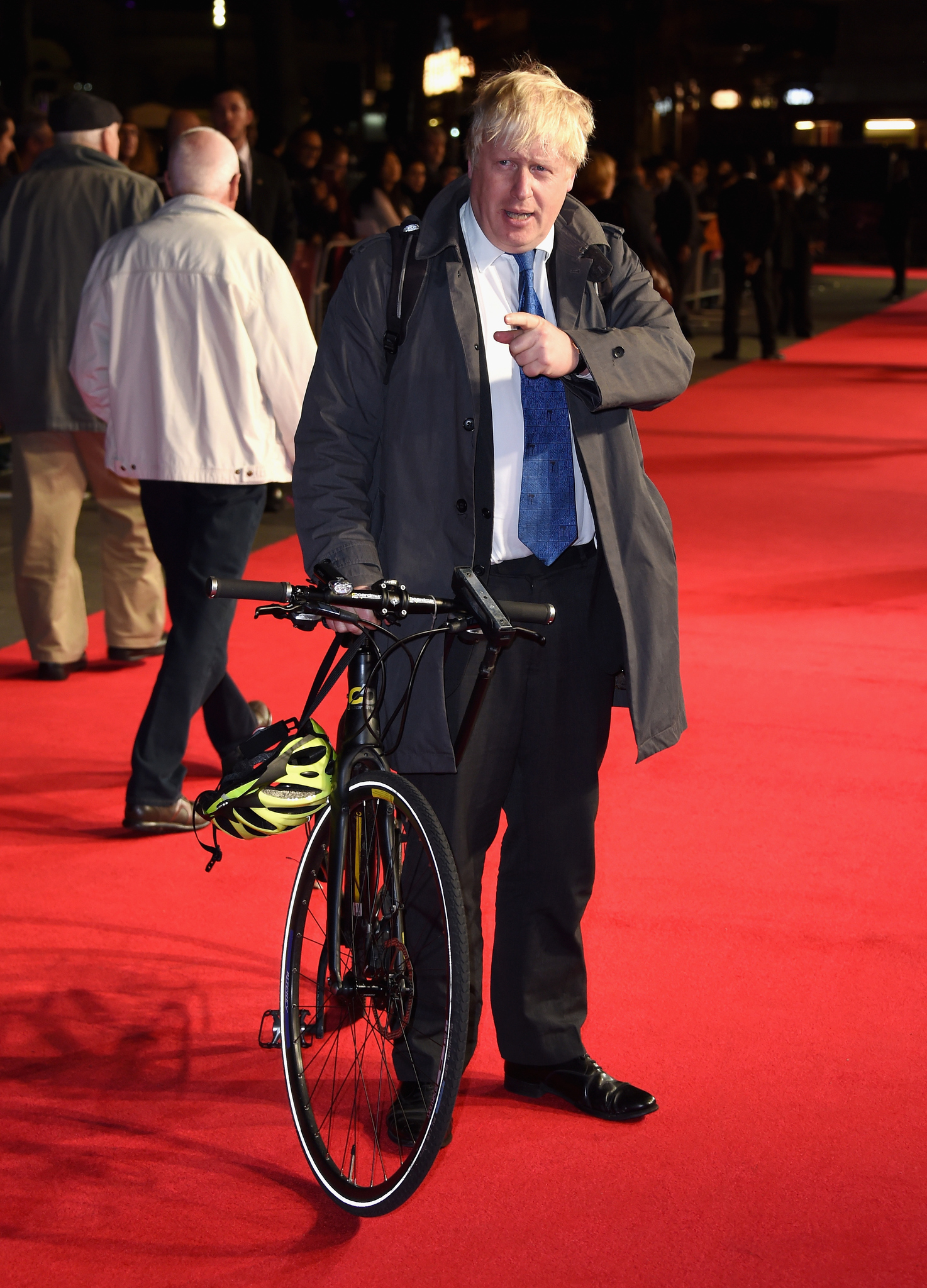 Boris Johnson at an event for Testament of Youth (2014)