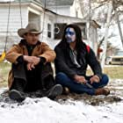 Gil Birmingham and Jeremy Renner in Wind River (2017)