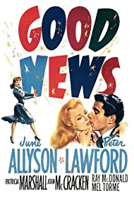 June Allyson and Peter Lawford in Good News (1947)