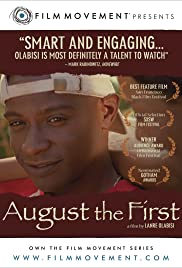 August the First Poster