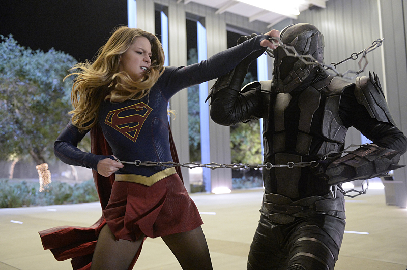 Jeff Branson and Melissa Benoist in Supergirl (2015)