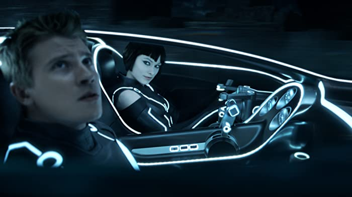 Olivia Wilde and Garrett Hedlund in TRON: Legacy (2010)