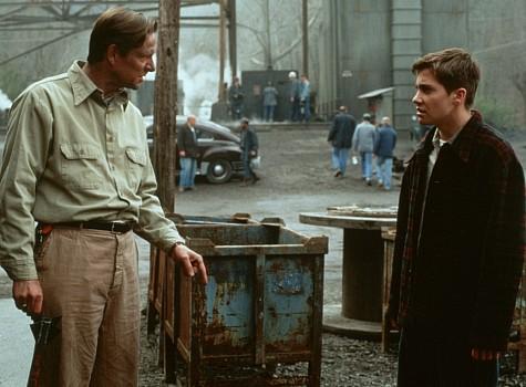 Chris Cooper and Jake Gyllenhaal in October Sky (1999)