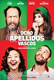 Karra Elejalde, Carmen Machi, Clara Lago, and Dani Rovira in Ocho apellidos vascos (2014)
