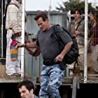 Bruce Campbell, Kiele Sanchez, and Ilza Ponko in Burn Notice: The Fall of Sam Axe (2011)