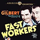 Robert Armstrong, Mae Clarke, and John Gilbert in Fast Workers (1933)