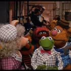 Frank Oz, Jim Henson, Dave Goelz, Richard Hunt, Jerry Nelson, The Great Gonzo, Kermit the Frog, Miss Piggy, and Fozzie Bear in The Muppets Take Manhattan (1984)