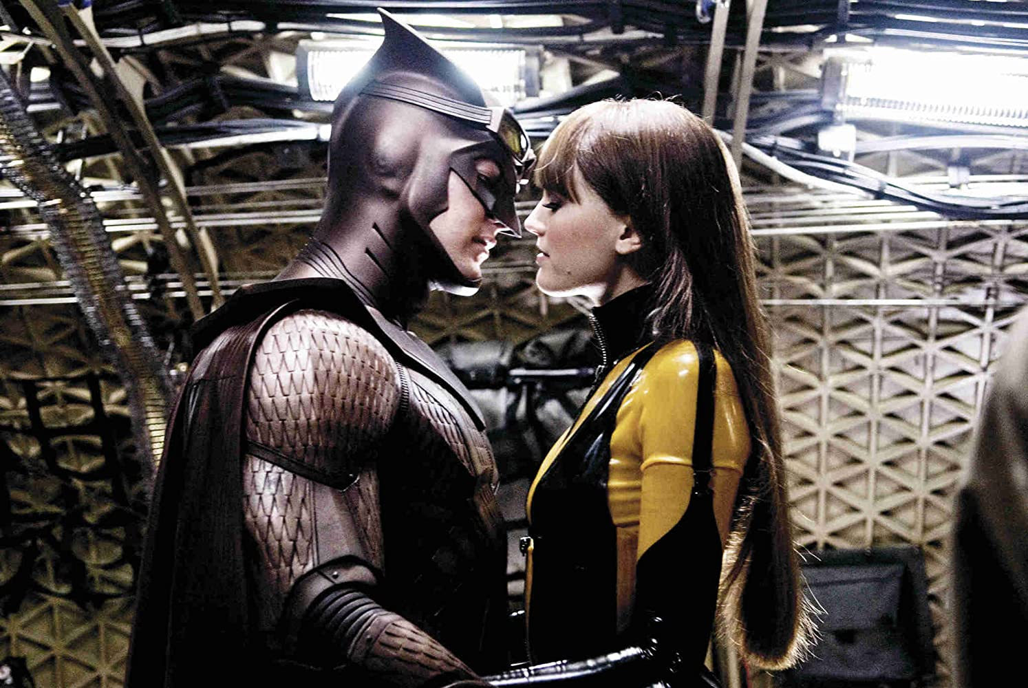 Malin Akerman and Patrick Wilson in Watchmen (2009)