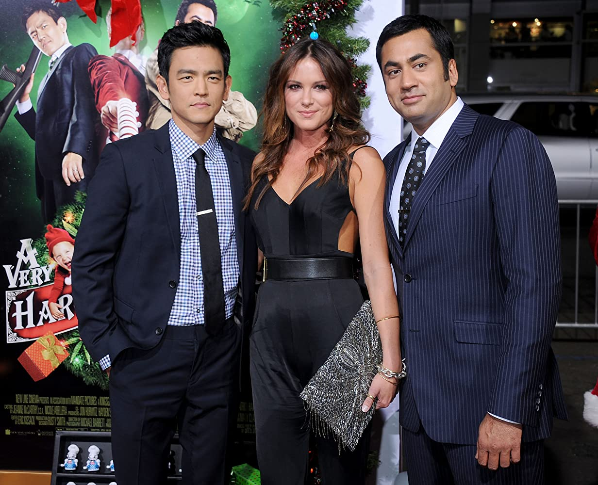 john cho kal penn and danneel ackles at an event for a very harold - Harold And Kumar 3d Christmas