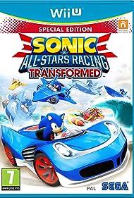 Mike Pollock, Kaoru Morota, and Roger Craig Smith in Sonic & All-Stars Racing Transformed (2012)