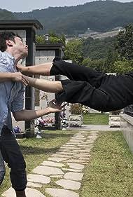 Bae Doona and Sukku Son in Sense8 (2015)