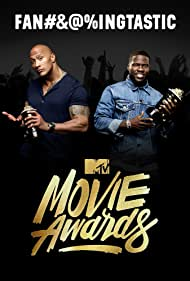 Kevin Hart and Dwayne Johnson in 2016 MTV Movie Awards (2016)