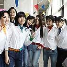 Shim Eun-kyung, Min-yeong Kim, Hyo-Rin Min, Kang So-ra, Park Jin-Joo, Bo-mi Kim, and Bo-ra Nam in Sseo-ni (2011)