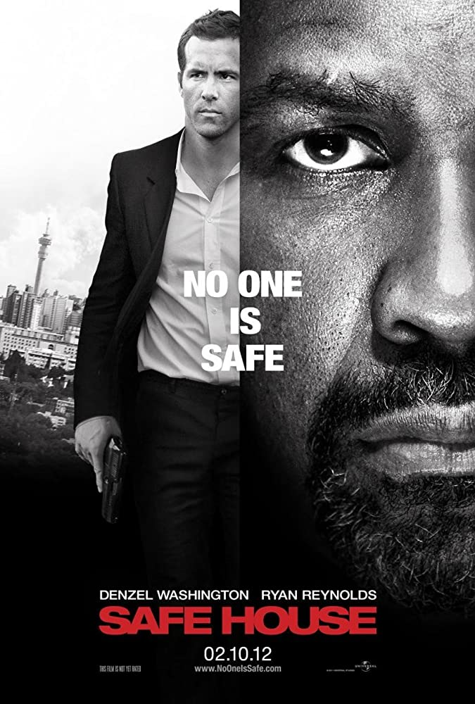 Safe House 2012 Hindi ORG Dual Audio 480p BluRay 400MB ESubs