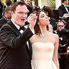 Quentin Tarantino and Daniella Pick at an event for Festival international de Cannes (1952)