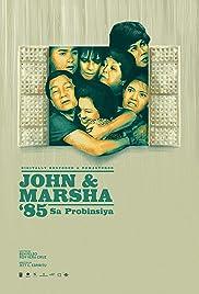 John en Marsha '85 Poster