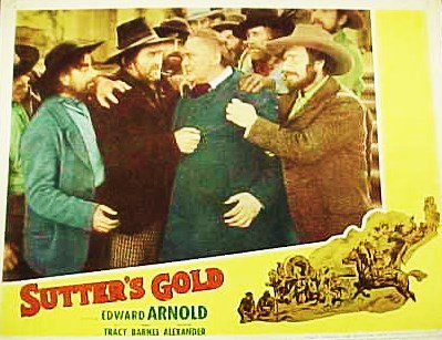 Edward Arnold and Bud Osborne in Sutter's Gold (1936)