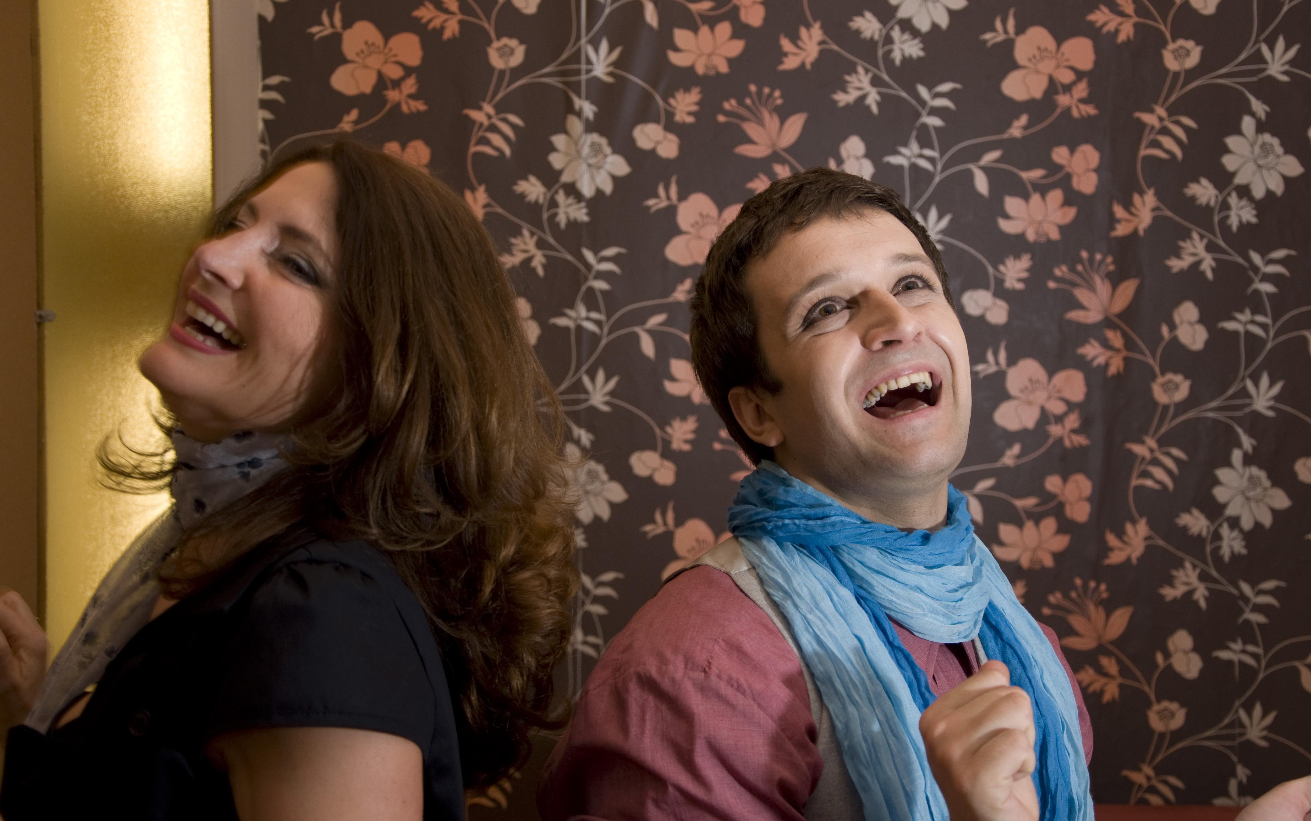 Branka Pujic and Nemanja Oliveric in Ljubav i moda: Eurostikla (2009)