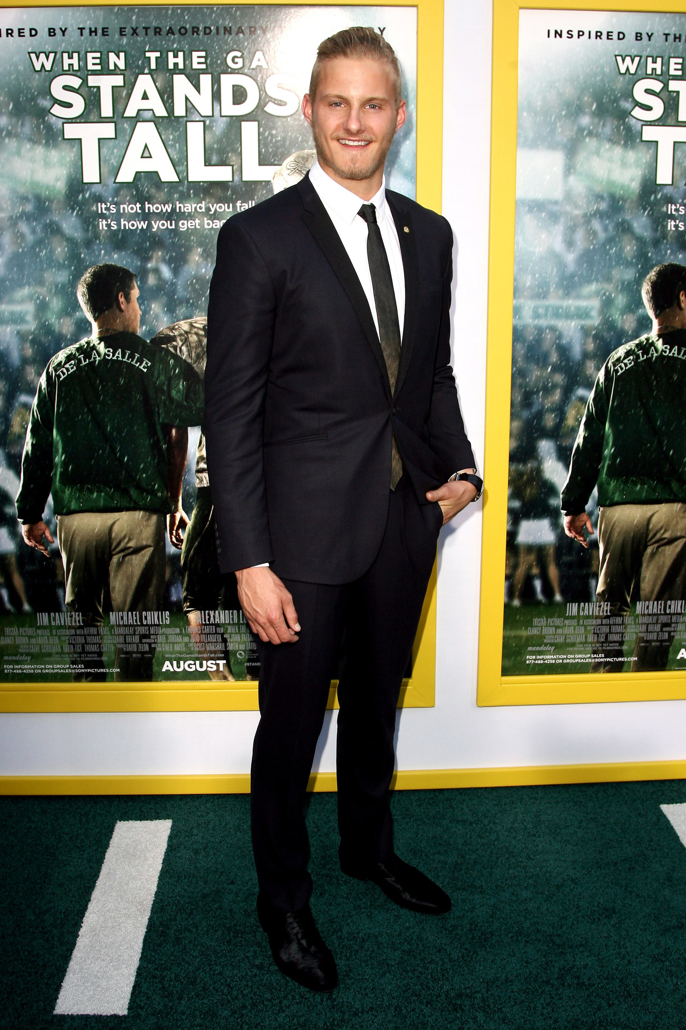 Alexander Ludwig at an event for When the Game Stands Tall (2014)