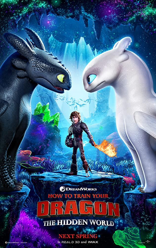 How to Train Your Dragon: The Hidden World 2019 Hindi ORG Dual Audio 350MB BluRay Download
